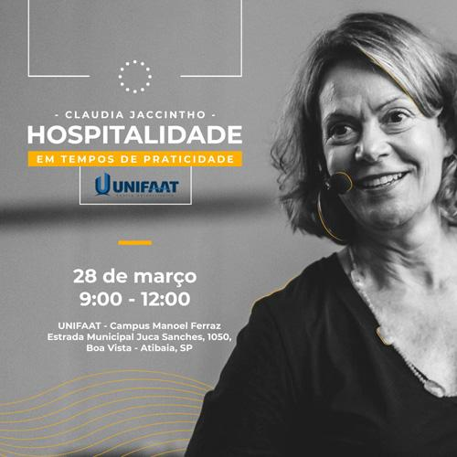 HOSPITALIDADE EM TEMPOS DE PRATICIDADE